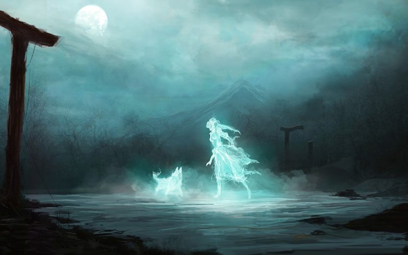 DOG MYSTICA, MYTHOLOGY, GHOSTS