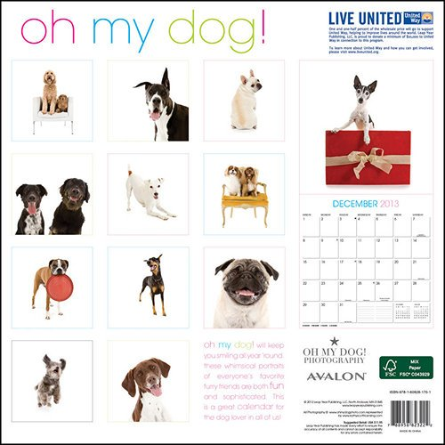 BEST DOG and PUPPY CALENDARS 2014, 2015, 2016, 2017, 2018, 2019, 2020
