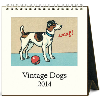 VINTAGE DOG and PUPPY CALENDARS
