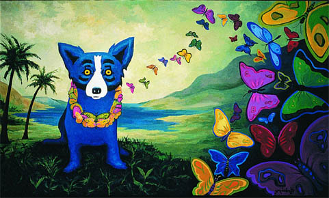 DOG and PUPPY CALENDARS by GEORGE RODRIGUE