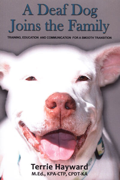 BOOKS ABOUT DEAF DOGS and PUPPY, INFORMATION, TIPS, CARE