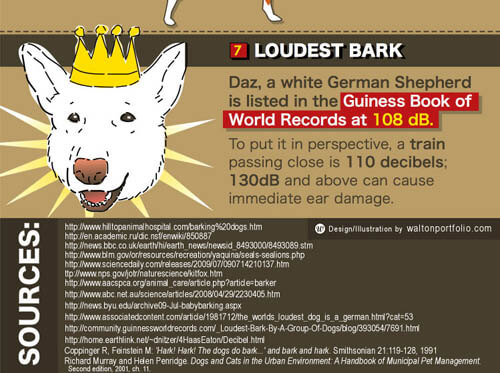 Dog Records and Awards, Guinness Book