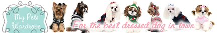 BUY DOG CLOTHES DRESS & APPAREL ONLINE