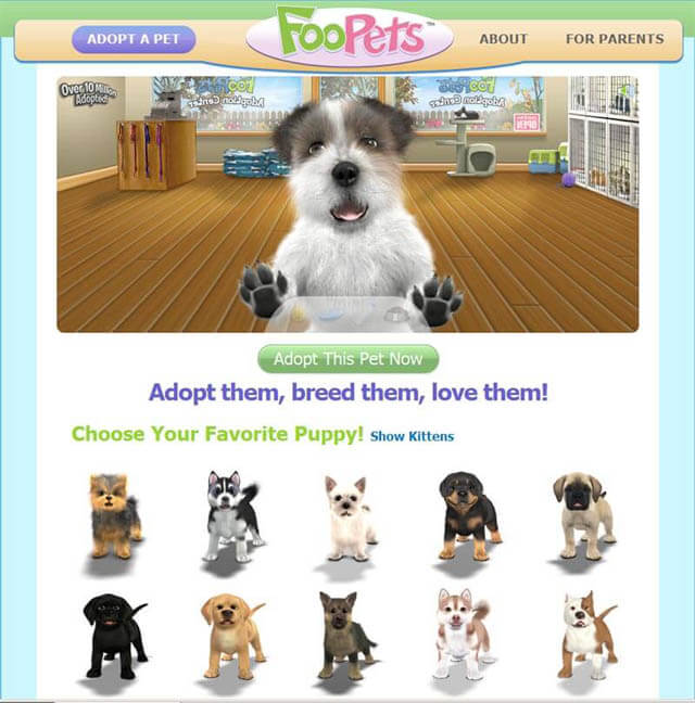PLAY FREE ONLINE DOG and PUPPY GAMES