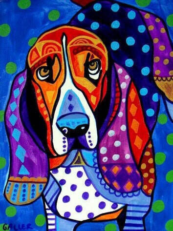 BUY ONLINE DOG ART, PORTRAITS, PAINTINGS and DRAWINGS