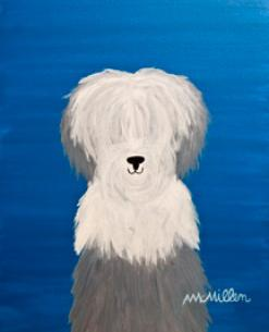 DOG ART, DRAWINGS, PAINT by Abby Mcmillen