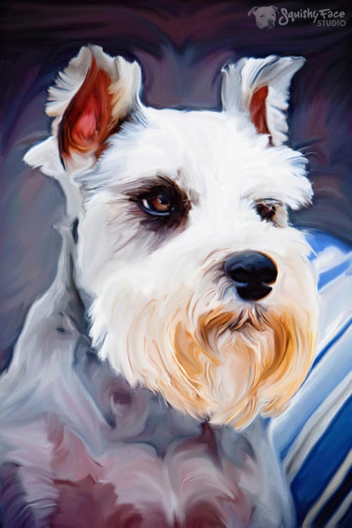 DOG ART, DRAWINGS, PAINT