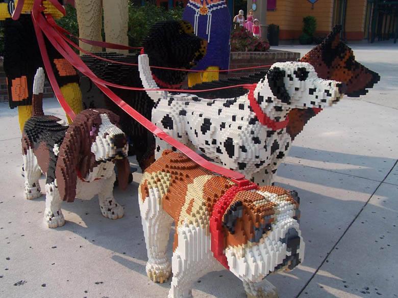 Dog Lego Dogica 174 3d Lego Dog Toys Set And Instructions
