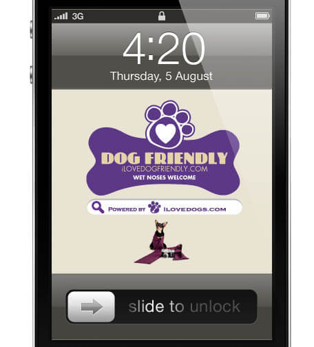 This user generated FidoFactor app will help you locate dog friendly spots in your area - dog parks, dog friendly restaurants, bars, pet stores, hotels, and more. This app will find you directions, hours, contact information and reviews. FREE