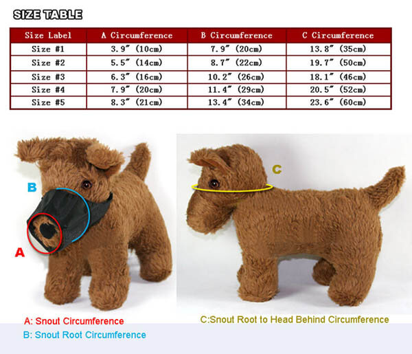 How To Measure Your Dog and Puppy for Muzzle, Harness, Collar