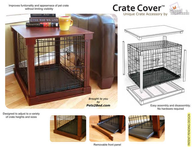 BUILD DOG CRATE COVER - HOMEMADE, DIY