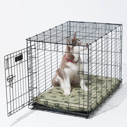 DOG & PUPPY CRATE CAGE KENNEL COVER