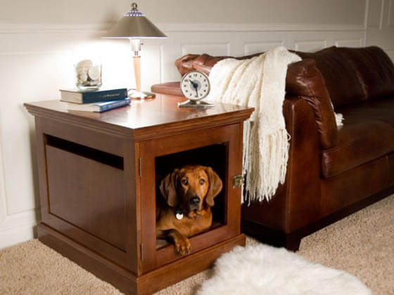 Product and Photo by DenHaus, Inc - CREATIVE DESIGNER DOG & PUPPY HOUSES, KENNELS