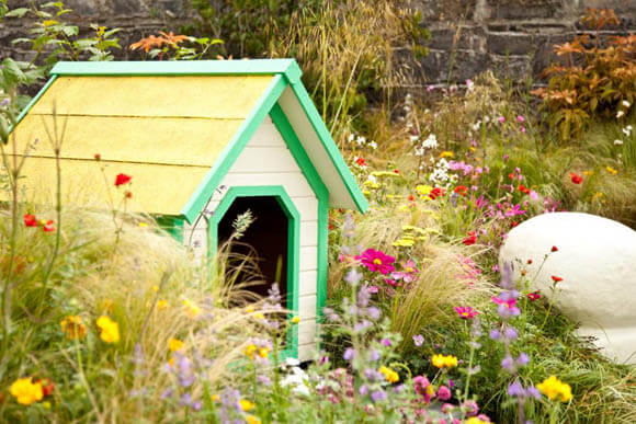 OUTDOOR DOG & PUPPY HOUSES