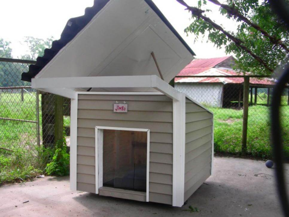 Outfitted For All Weather - CREATIVE DESIGNER DOG & PUPPY HOUSES, KENNELS