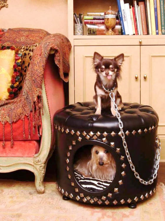 Product and Photo by Precious Palaces - CREATIVE DESIGNER DOG & PUPPY HOUSES, KENNELS