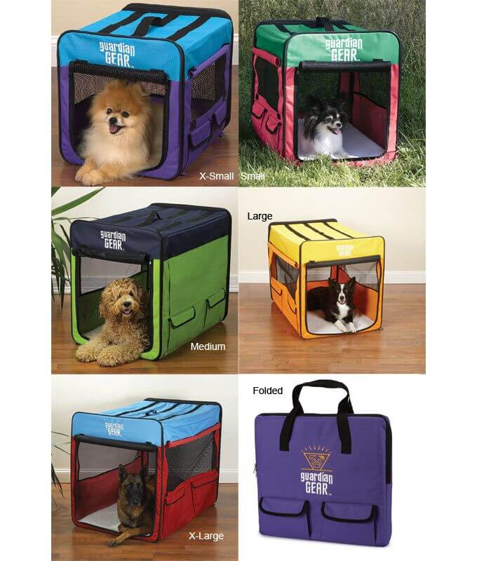 SOFT-SIDED DOG & PUPPY CRATES