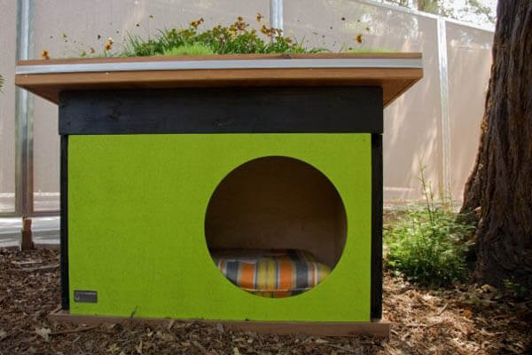 Green Doghouse Ideas - BEST OUTDOOR DOG & PUPPY HOUSES, KENNELS, CAGES, CRATES, IGLOOS, HOMEMADE AND DIY DOGHOUSES