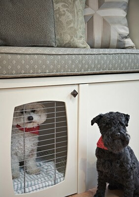 DOG CRATES: SIZE, DESIGN & MATERIAL - WOODEN, WIRED, FABRIC, PLASTIC, TRAVEL DOG CAGES