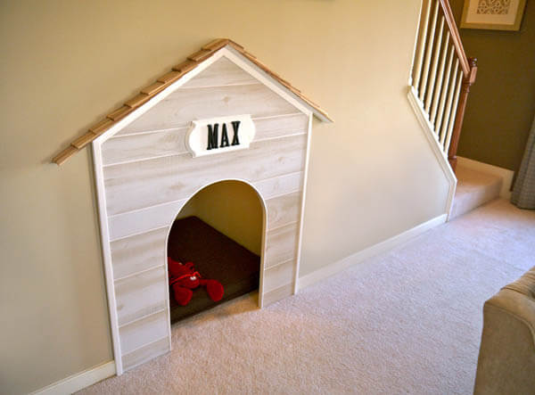 UNDER STAIR CREATIVE DESIGNER DOG & PUPPY HOUSES, KENNELS