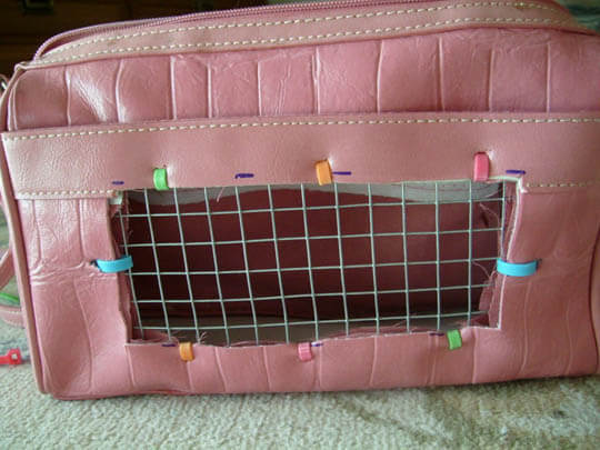 DIY HOMEMADE DOG & PUPPY CARRIER, BACKPACK, PURSE, DESIGNER USES, OUTDOOR SADDLE BAGS, DOG CARRYING HARNESS