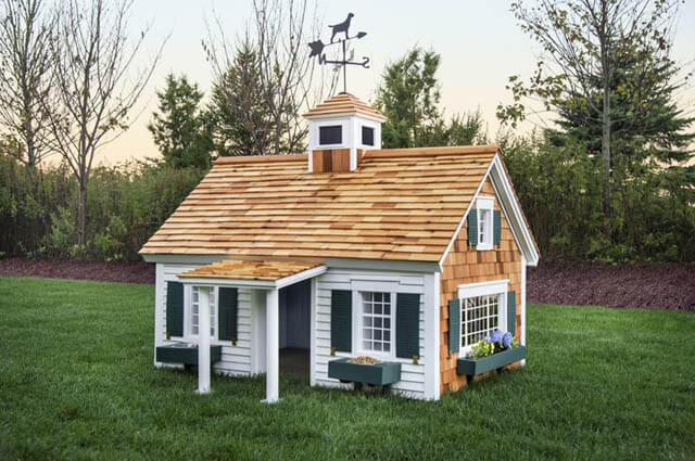 DOGHOUSE HEATING, HIGH-TECH, MODERN DOGHOUSES