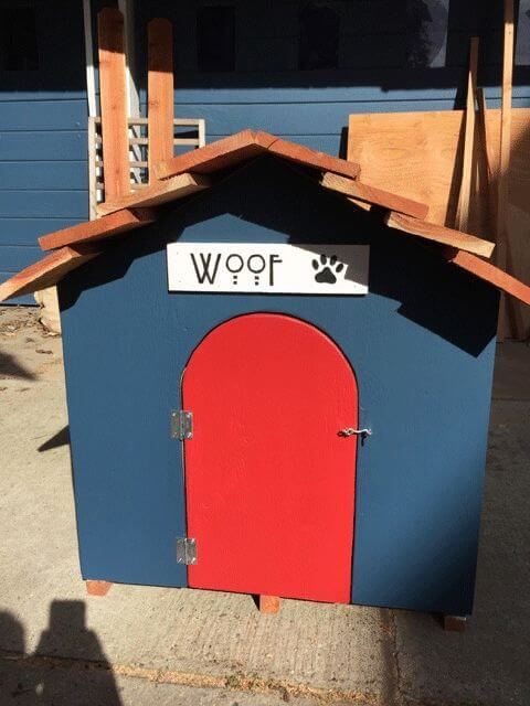 DOGHOUSE, KENNEL, IGLOO: TYPES, SIZES, VARIATIONS AND DESIGN & MATERIALS