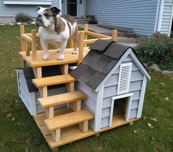 HOW TO PREPARE FOR WINTER YOUR DOGHOUSE