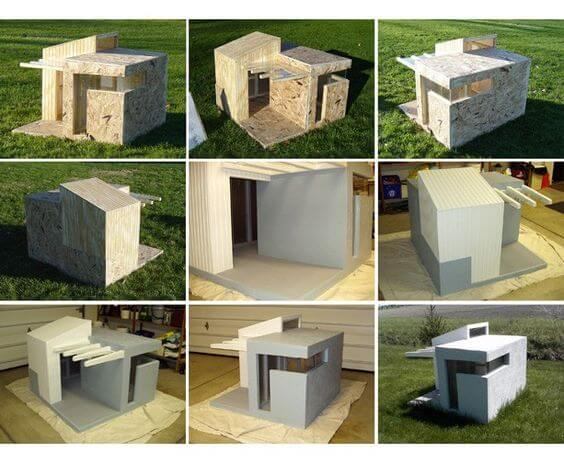 DOGHOUSE FIT SIZE GUIDE, KENNEL, IGLOO - VINTAGE DOGHOUSES & KENNELS