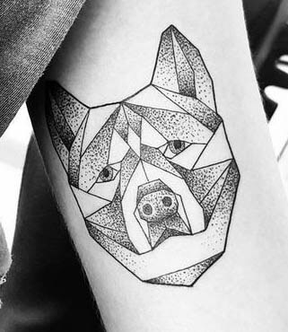 DOG TATTOO TYPES, VARIATIONS and STYLES