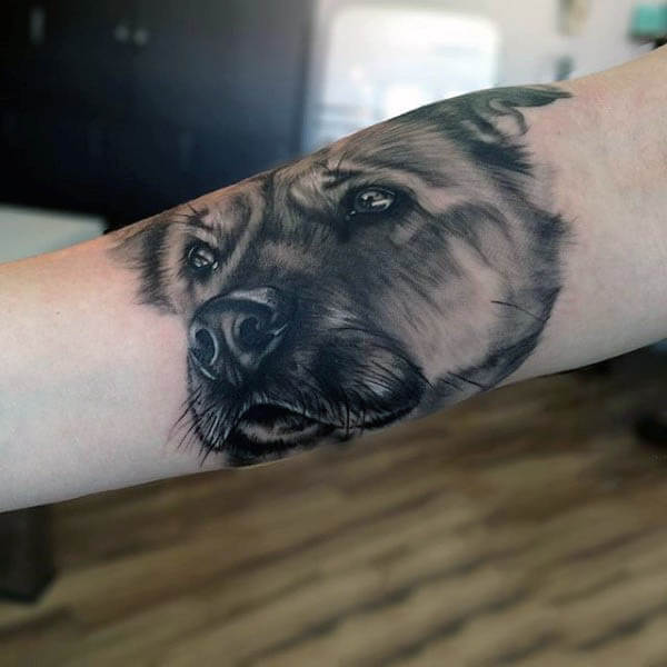 DOG TATTOO MEANINGS: SIGNS, HISTORY, SYMBOLISATION