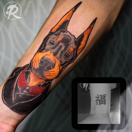 DOG TATTOO METHODS