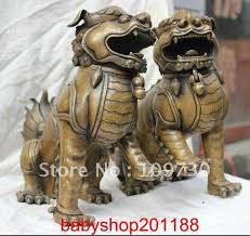 CHINESE FOO DOGS APPEARANCE
