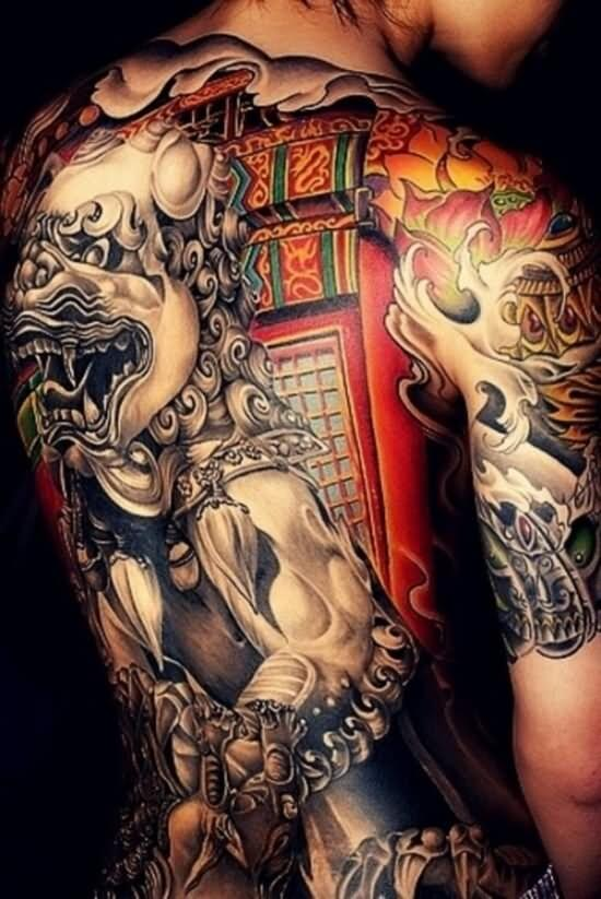 CHINESE FOO DOG TATTOOS - FANTASTIC, AMAZING