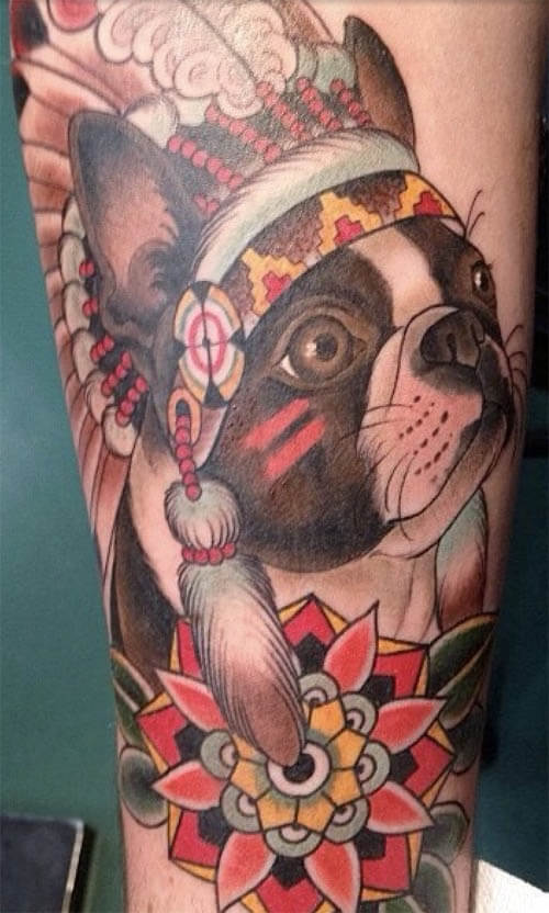DOG TATTOO PHOTOS COLLECTION - AMAZING, STUNNING, WONDERFUL, 3D, COLORIFIC, ART, PORTRAITS, INK, PERMANENT