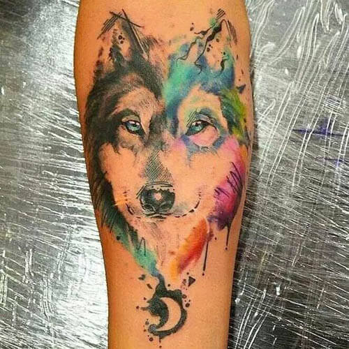 BEST HUSKY DOG TATTOO DESIGNS
