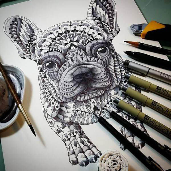 CELTIC DOG TATTOOS - MYSTIC, ANCIENT, AMAZING, STUNNING