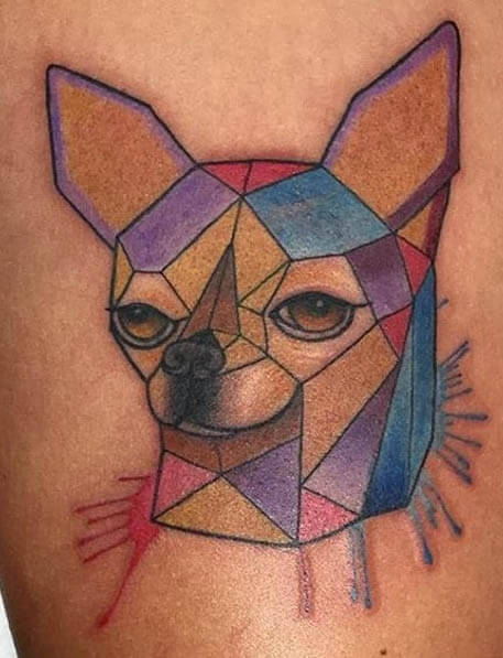 BEST CHIHUAHUA DOG TATTOO DESIGNS