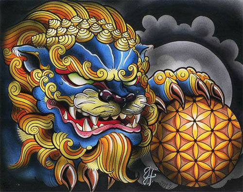 CHINESE FOO DOG BREED - HISTORY, APPEARANCE, DEFINITONS & STANDARDS