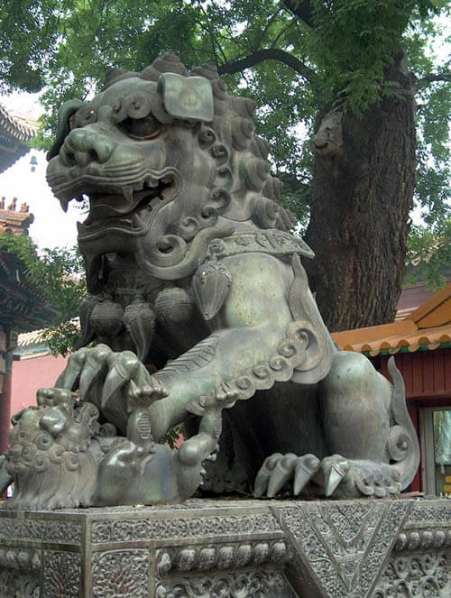 CHINESE GUARDIAN LIONS - FOO DOGS, HISTORY, ROOTS