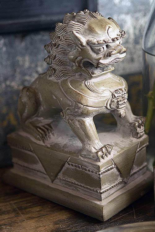 MALE LION - FOO DOG