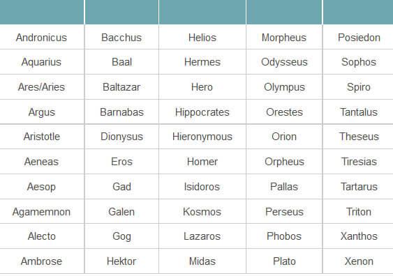 10++ God names for dogs information