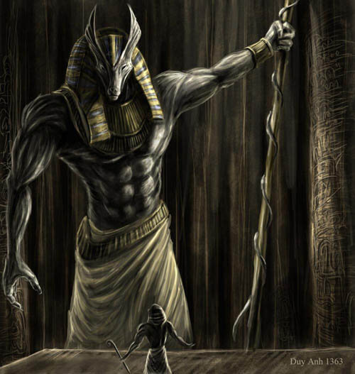 DOG WITHOUT TEMPLES - ANUBIS