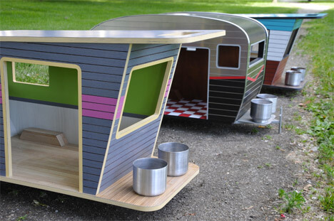 DOGHOUSES FOR POCKET MINIATURE DOGS