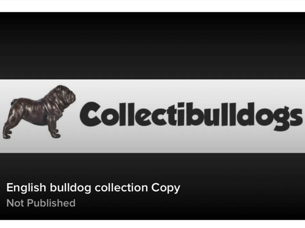 WWW.COLLECTIBULLDOGS.COM