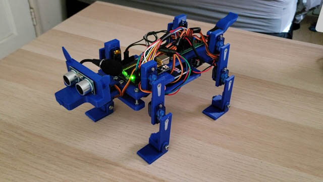 HOW TO BUILD DOG ROBOT AT HOME?