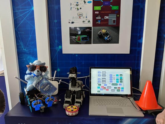 VOICE-CONTROLLED ROBOT DOG for VISUALLY IMPAIRED PEOPLE
