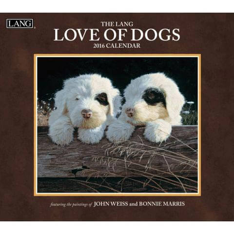 DOG and PUPPY CALENDARS 2016