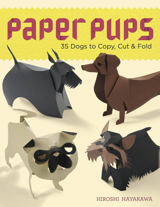 Buy Online Dog Origami Book