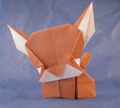 Chihuahua by Seo Won Seon (Redpaper) (Press to Buy online this Origami Dog Template)